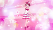 Megumi carta vestido rosa