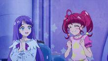 STPC26 Madoka and Hikaru really liked the movie