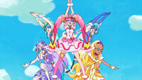 STPC37 The Star Twinkle Cures posing