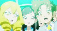 STPC40 Sakurako and Tatsunori watch Milky protect them