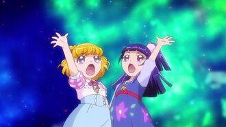 Maho Girls Pretty Cure! Child Transformation