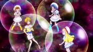 Himari, Aoi y Ciel molestando a Homare