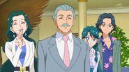 Tsukasa and Masumi smiling sympathy Haruka