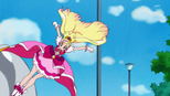 Flora kicking Zetsuborg