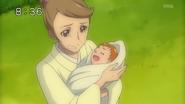 Mari encuentra a Aguri de bebé