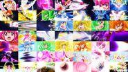 Rainbow Burst Collage