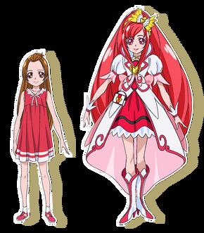 5Cure Ace y Aguri