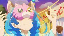 STPC25 Hikaru puts a mask on Yuni