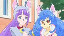 STPC37 Madoka and Yuni's costumes