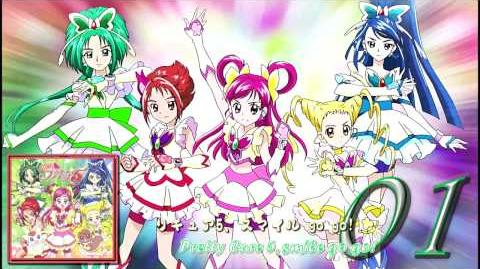 Yes! Pretty Cure 5! OP&ED Theme Single Track01-0