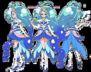 Cure Mermaid Perfiles