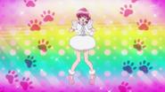 Megumi vestida de perro