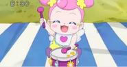 Ai jugando con el tambor