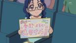Yui encouraging Haruka
