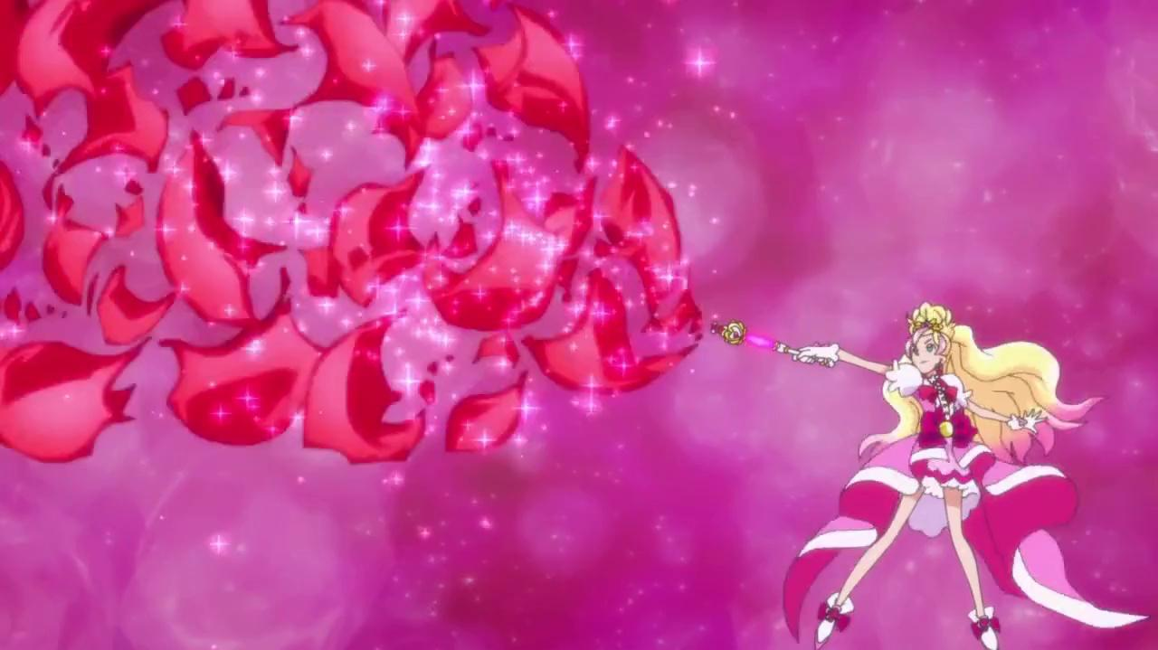 Go! Princess Pretty Cure - PreCure Rose Tourbillion