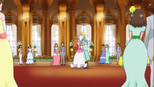 Haruka dancing with the prince