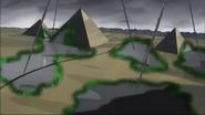 Moebius' attack on Egypt