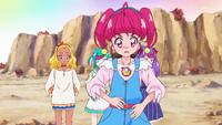 STPC19 Hikaru checks to see if she has her Princess Star Color Pen