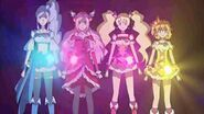 Fresh Precure recives their new power