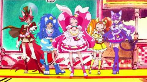 SHINE!! KiraKira☆Pretty Cure A La Mode