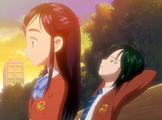 FwPC18 Honoka and Kiriya on a bench