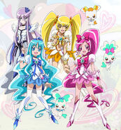 Heartcatch all stars new stage 2
