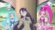 Yuri se desploma al usar mucha energia