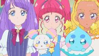 STPC29 Madoka, Hikaru and Elena are surprised by what Toto said