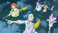 (49) End of Episode Girls Flying