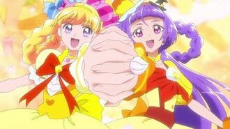 Cure Miracle & Magical Transformation (Topaz)