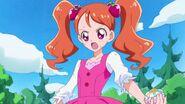 Ichika a punto de transformarse por primera vez