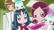 Tsubomi piensa hacerle una medalla a Hayashi por su logro