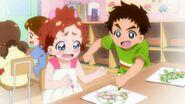 45. Yuuki arruinando los dibujos de Haruka cuando iban al Kinder