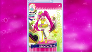 Carta Lovely Lollipop Hip Hop completa
