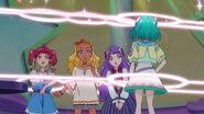 IA analizando a las Pretty Cure