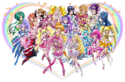 Precure All Stars DX3 The Movie Website