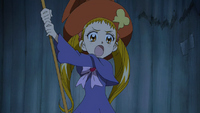 Urara as a witch