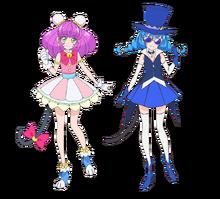 Mao & Blue Cat Toei Profile