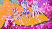 Scarlet, Twinkle, Mermaid y Kanata liberados