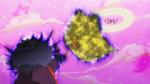 KKPCALM49-Elder's body uses umbrella to trap Pekorin fairies