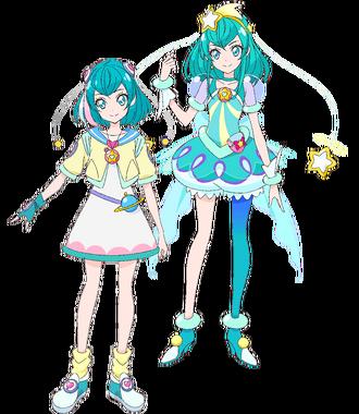 Lala Hagoromo y Cure Milky