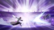 Phantom ataca a Fortune con su espada