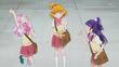 Riko and Kotoha agree to have Strawberry Melon Bread