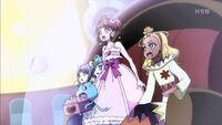 STPC15 The girls and Prunce react to the appearance of the Princess Star Color Pen