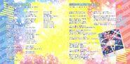 Star Twinlle 2nd ED lyrics booklet