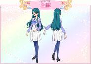Minami uniforme perfil toei