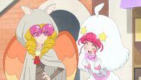 STPC37 Hikaru admires Sakurako's outfit