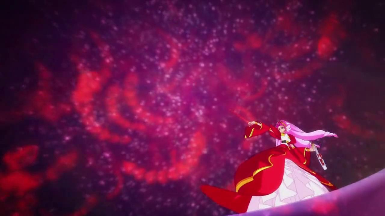 Cure Scarlet Mode Elegant Phoenix and Phoenix Blaze