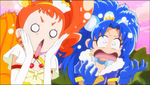KKPCALM05 Custard and Gelato are shocked to see Yukari transform
