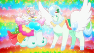 KKPCALM Fantastic Animale-Parfait and crystal pegasus